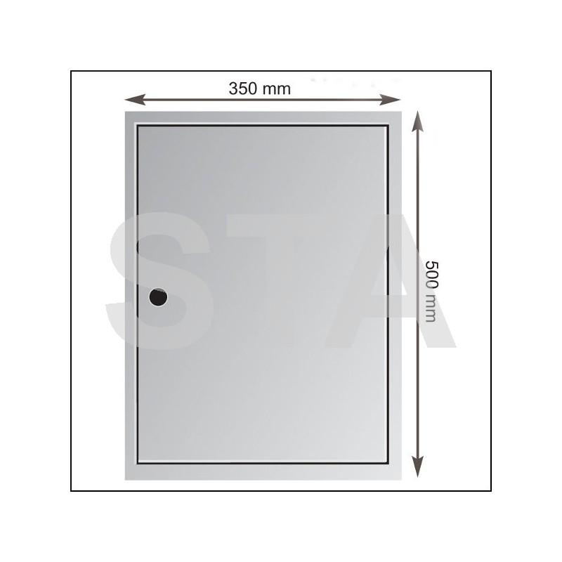 Trappe de visite 350x500 mm - Trappes de visite ...