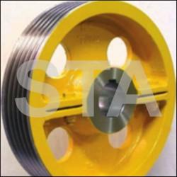 Traction sheave Volpi VS40, VR65, GS-V4