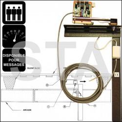 Pèse-charge électronique sous cabine
