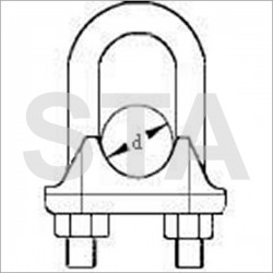 Cable clamp diameter 7-8 mm Tightening 4.24