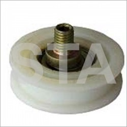 Grooved roller diameter flat initial 50