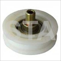 Grooved roller diameter flat initial 50 Monitor