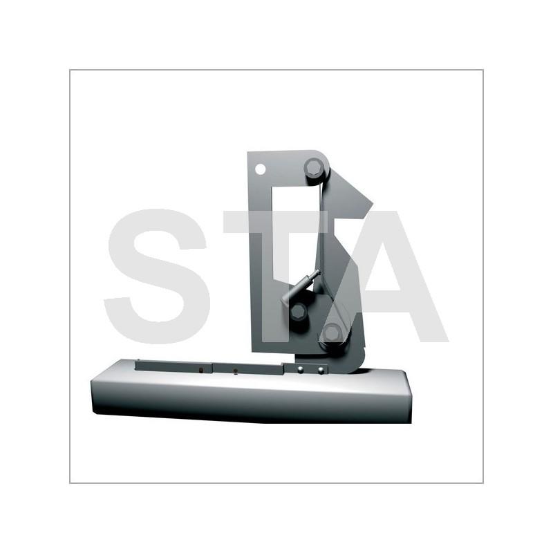 serrure ad levier 175 mm pi ce d tach e pour porte f86. Black Bedroom Furniture Sets. Home Design Ideas