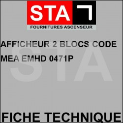 Display two code blocks mea emhd 0471p