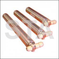 Ferme-portes tubulaire long démontable 425 mm