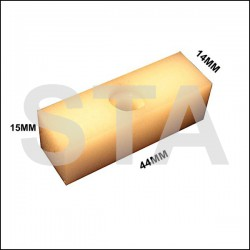 Aljo trim 15mm width 14mm height busmatic length 44mm