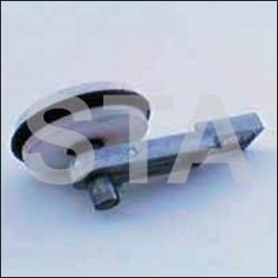 Levier de serrure avec axe Longueur 45 mm