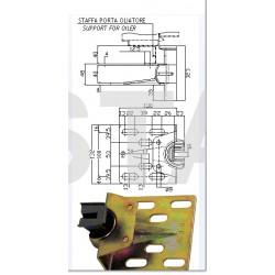 Coulisseau T300 guide 9 mm 1000kg