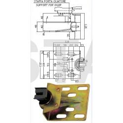 Coulisseau T300  guide 14 mm  1000kg