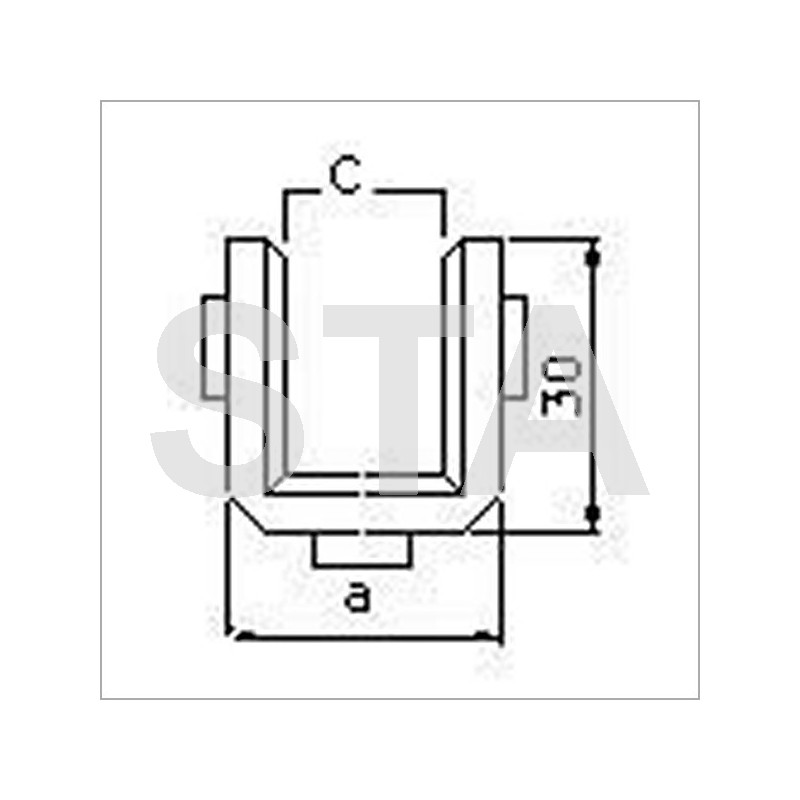 Schindler polyurethane lining lxa 100x26 mm 10 5 mm c - Panneau polyurethane 100 mm ...