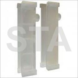 Garniture pour rails type Fiam en polyuréthane L 140 mm 7.5 mm