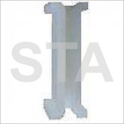 Garniture pour rails type Fiam en polyuréthane 80x20 mm 8.5 mm