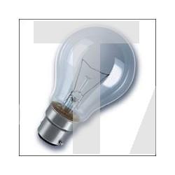 Lampe B22 standard 230V