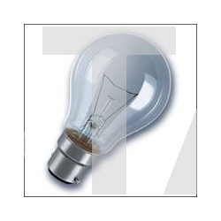 Lampe B22 spherique 230V