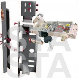 Serrure HE1 et HE2 porte TPI gauche parallèle