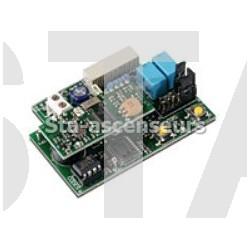Récepteur à carte CARDIN 2 canaux (embrochable)