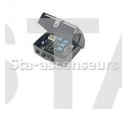 Récepteur modulaire avec afficheur (Récepteur 4 canaux + 1 relais)