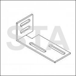 Mounting brackets D model