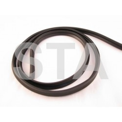 63570 ASTRAGAL RUBBER UNIVERSAL (2500MM LONG)