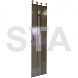 Panneaux de portes articulés porteur 2350 mm épaisseur 30 mm