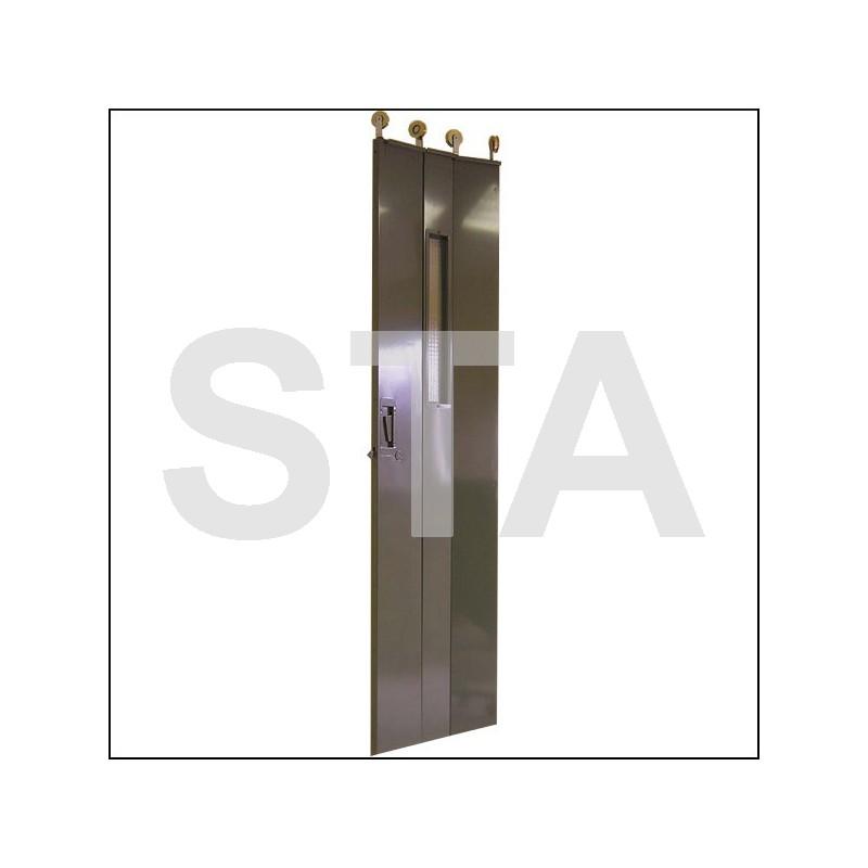 panneaux de portes articul s port 2200 mm paisseur 30 mm. Black Bedroom Furniture Sets. Home Design Ideas