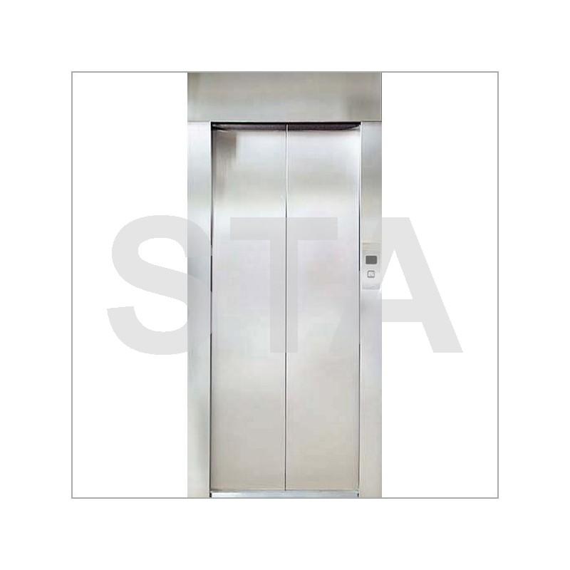 Kit complet porte pali re 2 vantaux h mm pl 800 mm for Porte 2 vantaux