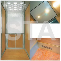 Option granit : Kit habillage en stratifié 630 kg 1100 mm x 1400 mm
