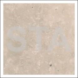 Habillage cabine : granit et marbre Travertin Contrepasse