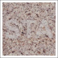 Habillage cabine : granit et marbre Jaune