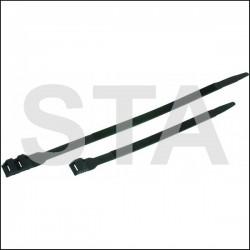 Collier d'installation polyamide 12 noir L 183 mm