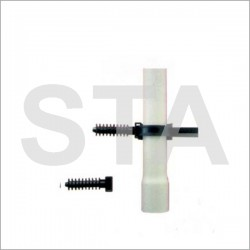 Embase à cheville pour collier de 9 mm de largeur