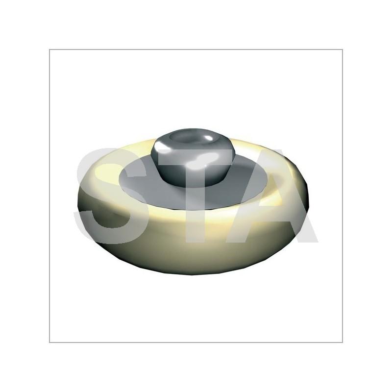 galet porteur porte pali re pi ce d tach e pour porte f86. Black Bedroom Furniture Sets. Home Design Ideas