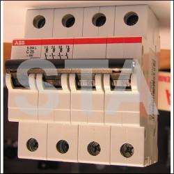 Disjoncteur 3P+N 10A