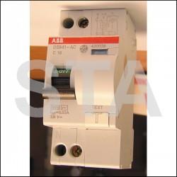 Disjoncteur différentiel 1P+N 10A 30 mA
