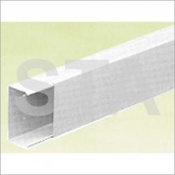 Goulotte d'installation blanche 25x25