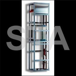 Monte-plats 2 services Structure pylone 800 x 500 x 500