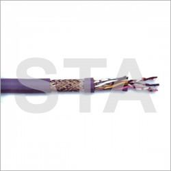 Câble téléphone souple blindé 2x2x0,34 mm2