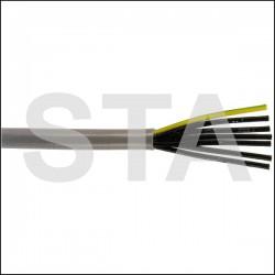 Câble souple PVC multiconducteur numéroté 5G-0,75mm2 YSLY-JZ