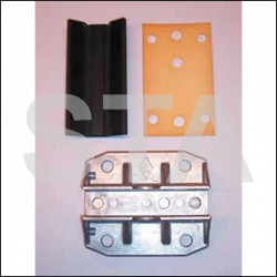 Coulisseau complet pour ascenseurs ISO-PA et ISO-PM