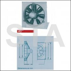 Ventilateur hélicoïde à hautes performances HQW 200/2
