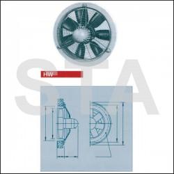 Ventilateur hélicoïde à hautes performances HWW 200/4