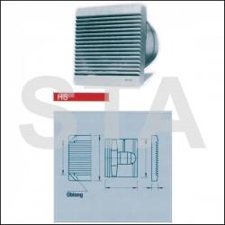 Ventilateur hélicoïde à hautes performances HSW 200/2