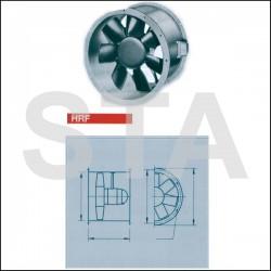 Ventilateur hélicoïde à hautes performances HRFW 200/2
