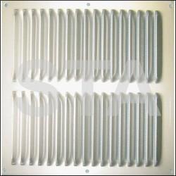 Grille de ventilation alu 200x200