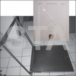 Trappe accès machinerie