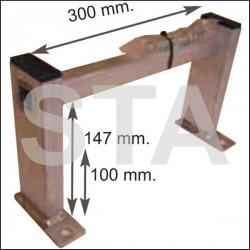 Echelon alu H :100 mm L : 300 mm