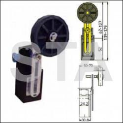 FR 995-4 galet diam 50 mm 1NO+1NC