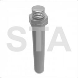 Axe court de fixation de câblette