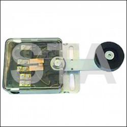Contact galet diam 48 mm levier droit
