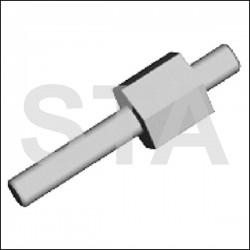 Axe 2 Roulettes 01545.00 de Câble Ecosil